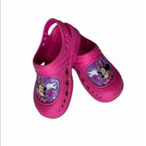 Other - Minnie Mouse little girls shoes, Croc style/Size 9